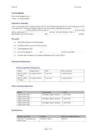 Resume Format For Software Developer Fresher Resume Lovely Software