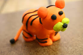 Easy Things To Make How To Make A Standing Tiger Out Of Clay 15 Steps With Pictures