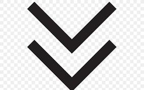 Down Arrow Chart Arrow Symbol Icon Png 512x512px Symbol Black Black And