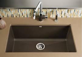 Blanco 440147 Precis Super Single Bowl Undermount Silgranit Blanco Undermount Kitchen Sink