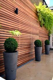 Full Image for Modern Garden Fence Ideas Contemporary Garden Fence Designs  Wonderful Wooden Fence Ideas For ...