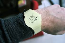 Watch Post It Notes Wear Your Agenda With Wrist Watch Post It Notes