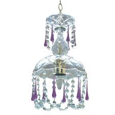 enchanting bedroom with small crystal chandelier cute luxury small chandelier with crystal glass and purple