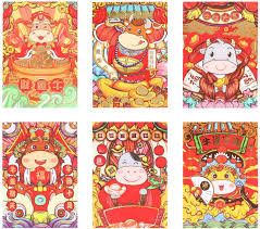 Amazon.com: ABOOFAN 60pcs Chinese New Year Red Envelopes 2021 Chinese Ox  Year Money Packets Hong Bao Lucy Money Envelope for New Year 2021: Home &  Kitchen
