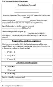 Business Proposals Templates 7 Best Business Proposal Letter Images Business Proposal Examples