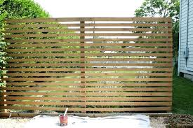 modern outdoor privacy screen with super deck wood how to build an lattice slatted details on