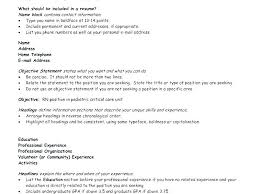 Resume Headings Beauteous Headings For Resumes List Of Resume On A Thekingswayco