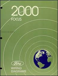 2000 ford focus wiring diagram manual original
