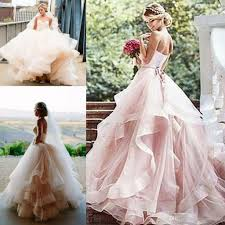 discount vintage soft 1920s inspired blush wedding dresses 2017
