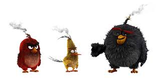 the angry birds movie — CINDEY CHIANG