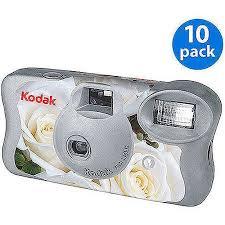 disposable cameras for wedding. kodak white floral \u0027one-time use\u0027 disposable film camera w/ flash ( cameras for wedding