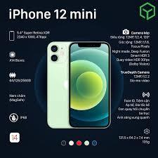 iPhone 12 Mini / 64GB / Fullbox