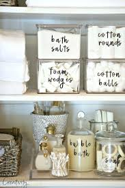 Bathroom Closet Organization Ideas Stunning The 48 Best Bathroom Organization Ideas House Pinterest