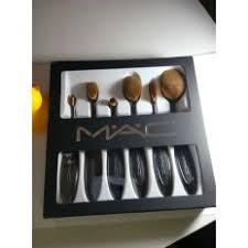 mac 6 pcs sets of toothbrush shape oval makeup brush