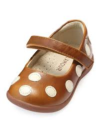 l amour shoes mara polka dot leather mary jane size baby toddler