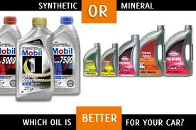 Guide To Car Engine Oils Mineral Oil Vs Synthetic Oil