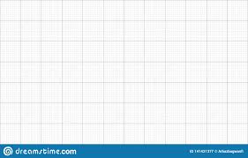 Graph Paper Black Grid Lines Stock Vector Illustration Of