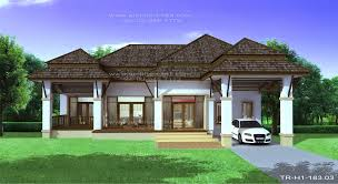 Modern Tropical House Plans  amp  Contemporary Tropical  Modern Style    Tropical One Story Design Ideas  Tropical Style house bedrooms  bathrooms  living area sq m