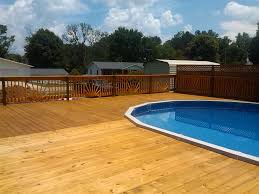 amazing above ground pool with deck cost 2018 install factor picture deep end included installation idea around them