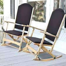 outside rocking chair cushions target outdoor folding cedar creek solid wood chairs cushio