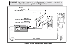 msd distributor automotive events meets ecu is involved beside be receiving a tach signal from the 6al here s a diagram of how the instructions show it should be connected the box
