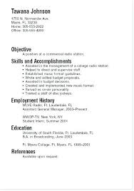 Undergraduate Student Resume Sample Classy Example Of Resume For Undergraduate Student Talktomartyb