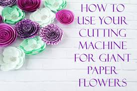 Giant Paper Flower Svg How To Upload A Svg To Cricut Design Space Abbi Kirsten Collections
