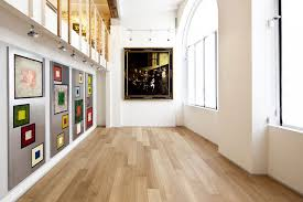 interior design white wall paint decoration with wooden laminate flooring also tracking lights picture art glass