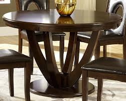 enchanting 48 inch round wood dining table with leaf remarkable design inch round room ideas