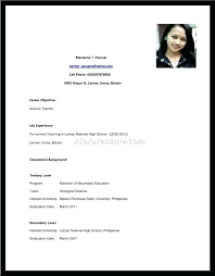 Sample Resume High School Student Best R Marvelous Sample Of A Resume For A Highschool Student Reference