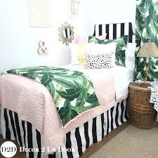 light pink bedding sets set a palm leaf black white light pink bedding light pink comforter set