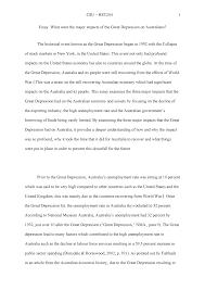 Australia Essay Csu Hts204 1 Essay Hst204 Twentieth Century Australia