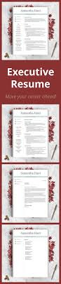 Executive Style Resume To Move Your Career Ahead This Will Stand