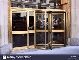 revolving door, New York City Stock Photo, Royalty Free Image ...