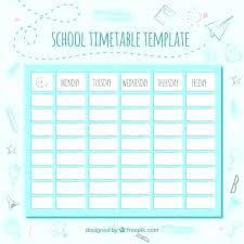 Calendar Template Online Academic Schedule Template Cute Schedule Maker Templates