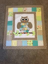 CUSTOM Baby Quilt - OwlHoots & CUSTOM Baby Quilt Adamdwight.com