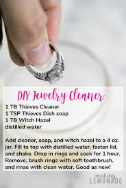 lots of homemade cleaners contain harsh chemicals that can actually damage jewelry try this diy