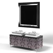 art deco bathroom furniture. oasis modern art deco luxury bathroom furniture vanity 2 two lavatory sink mirror