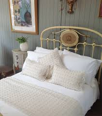 plain white or cream bamboo duvet cover with pillowcases