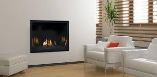 contemporary gas fireplace mendota fv41m