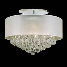 full size of lighting fascinating white drum shade chandelier with crystals 7 0001247 20 organza contemporary