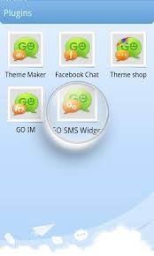 go sms pro theme maker plug in poster