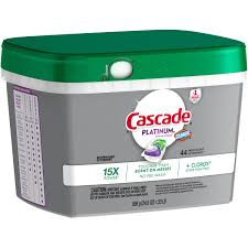 Dishwasher Brands Cascade Platinum Actionpacs Fresh Scent Dishwasher Detergent With