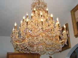 maria theresa chandelier trimmed with swarovski crystal