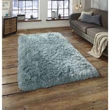 cozy light blue area rug