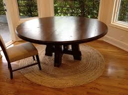 Custom Carruthers 70 Round Table By Farmhouse Table Pany Plus Brown