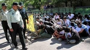 بامداد | اجرای طرح جمع آوری خرده فروشان و معتادان متجاهر در همدان
