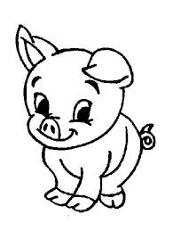 Small Picture Coloring Pages Animals Baby Pigs And Mother Coloring Page Baby