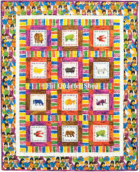 Free Quilt Pattern - Brown Bear What Do You See Free Quilt Pattern ... & Brown Bear What Do YOu See Free Quilt Pattern and Quilt Kit Adamdwight.com