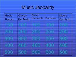 Jeopardy Powerpoint Template Mesmerizing √ Free Jeopardy Powerpoint Template With Music Download Od Decent